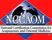National Certification Commission for Acupuncture and Oriental Medicine logo